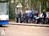 Taxi Drivers 'fighting'