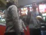 Trashy Girls Fight Everyone At Restaurant