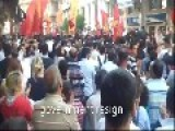 Turkish Peope Demonstrate Against Terrorism