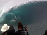 The Massive Swell Arrived In Teahupo'o Tahiti This Week