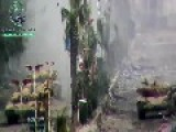 Tanks On The Streets Of Syria