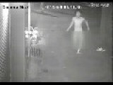 Two Girls Hit Naked Man With Bricks When Being Chased In Street