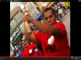 Thugs, Loyal To Barisan Nasional Party In Malaysia Attacking Innocent Campaigners