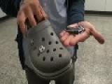 Upskirt Video Snapper Caught With Camera In Crocs