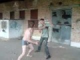 Ukrainian Boys Fighting