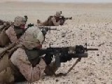 U.S Marines Lima Co. Live Fire Squad Assault Exercise