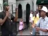 Unexpected Ending To Freestyle Rap Battle