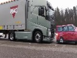 Volvo Trucks - Emergency Braking At Its Best
