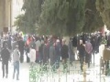 Violent Riots Around Al-Aqsa Mosque During Last Friday Prayers