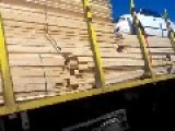Wtf Timber Truck Carrying A Car