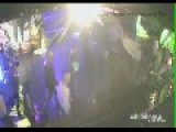 WARNING CCTV: Hells Angels V Finks Motor Bike Gang Fight In Night Club