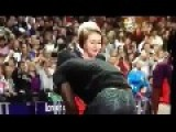 White Girl Wants Some Of Usain Bolt - Olympics 2012