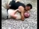 Wrestling Showdown : IRAQI Vs. US Tilt Elbow Choke Tap Out