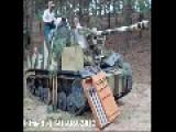 WWII Soviet SU76 SU100 T34 76 & 3x T34 85 At Sahara Show 2012