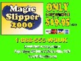 WSUK ***Magic Slipper 2000*** Commercial