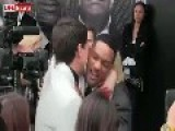 Will Smith Smacks Dude For Kissing Him