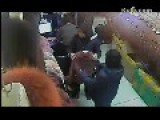 Women Steal Fur Coats In Store