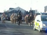 Wellcome Home Lads Fusiliers