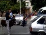 WTF From Dagestan - Donkey Taxi