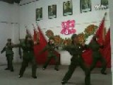 Youngsters Dressed As Red Guards To Entertain Diehard Maoists