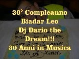 30&deg Compleanno-Evento Dj Biadar The Dream!!!