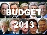 É LECTIONS 2012, ILS N' ONT PAS DE BUDGET 2013 !