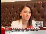 Aishwarya Rai Bachchan - Making Of Provoked Part 2
