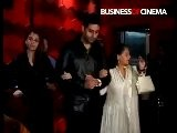 Aishwarya And Abhishek - Shabani Azmi&#039 S Birthday-2010