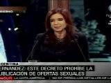 Argentina Proh&iacute Be Anuncios De Oferta Sexual