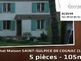 A Vendre - Maison - SAINT-SULPICE DE COGNAC 16370 - 5 Pi&egrave
