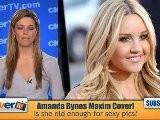 Amanda Bynes Takes Over Maxim