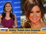 Ashley Tisdale Goes Brunette...Again