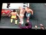 Alberto Del Rio Vs CM Punk Vs John Cena Hell In A Cell Match