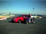 Autosital - Face &agrave Face Alfa Romeo MiTo Quadrifoglio Verde SBK - Yamaha R1 &agrave Magny-cours