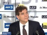 Arnaud Montebourg, Question D&#039 Ino