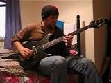 Beto Kupper Playing A Fretless Yamaha BB3000 Bass Guitar