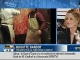 BFM Tv Le 21 02 2011 Brigitte Bardot...B R A V O Brigitte !