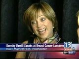 Breast Cancer Survivor Dorothy Hamill In Town