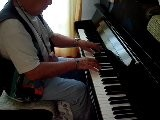 Bagamoyo Blues Improvis&eacute Et ,jou&eacute Par Vladimir Mitz , Malka Mitz A La Cam&eacute Ra