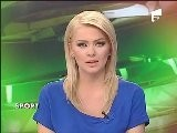 Beautiful TV Newscaster Cristina Dochianu Romanian Women Girls Donne Ragazze Rumene