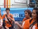 B&eacute N&eacute Voles D&eacute Chain&eacute S @ Ouverture Techno Parade 2011- Overbooke Live