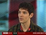 BBC News - Colin Morgan Katie McGrath