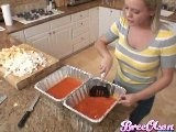 Bree Olson Cooking Show