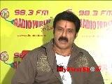 Balakrishna At Radio Mirchi 98.3 FM