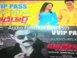 Bodyguard Audio Function Pass - Venkatesh Trisha