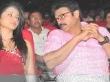 Bodyguard Audio Launch-Venkatesh And Trisha