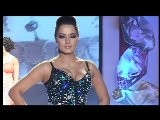 Bollywood Actresses Kajol, Celina Jaitly, Tanisha Walk The Ramp - Swarovski Gems Fashion Show Event