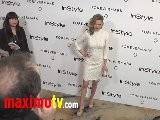 Bethany Joy Galeotti At Forevermark And InStyle Golden Globes 2012