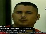 Capturado Jefe De Los Zetas Que Dominaba El Sur De M&eacute Xico