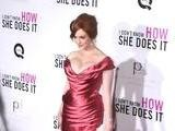 Christina Hendricks Makes Big Impression